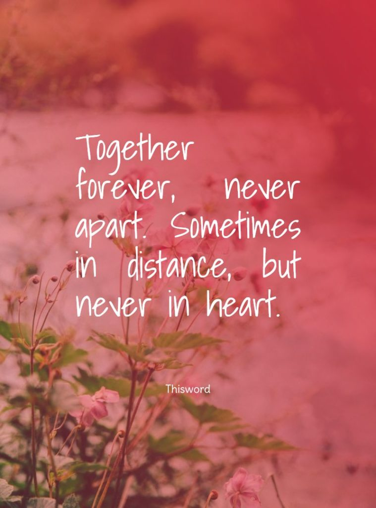 my dear love long distance relationship quotes