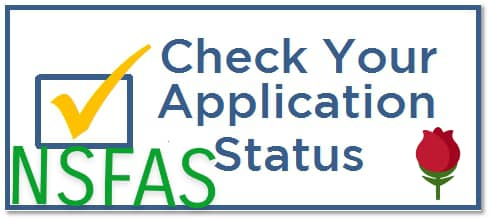 check nsfas application status