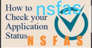 check your nsfas application status