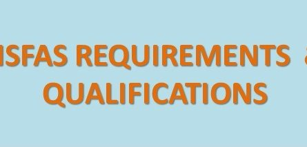 nsfas requirements and qualifications