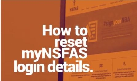 nsfas reset password and username