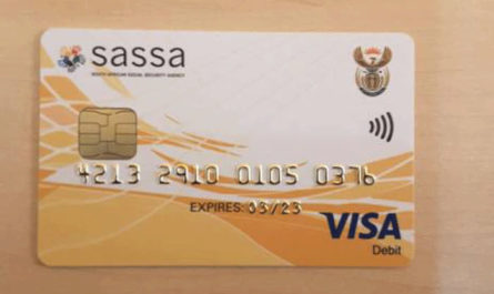 sassa card application and pins