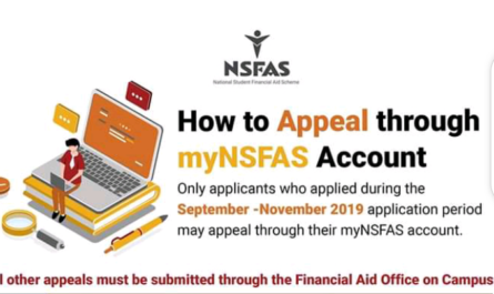 how to do nsfas appeals 2020