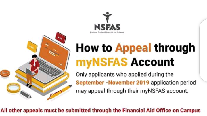 NSFAS Appeal Guide and Closing Date
