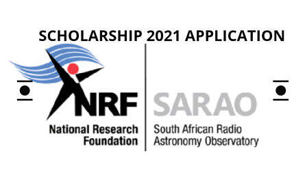 South African Radio Astronomy Observatory Scholarship 2021