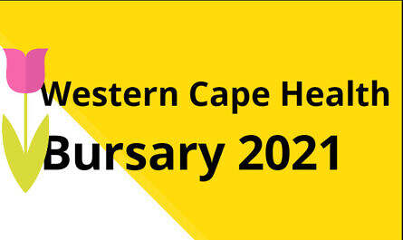 Western Cape Health Bursaries 2021