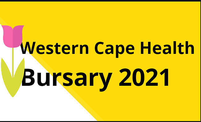 Western Cape Health Bursary 2021
