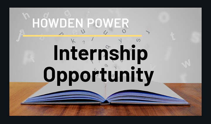 INTERNSHIP OPPORTUNITY – Howden Power, a Division of Howden Africa (Pty) Ltd