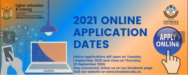 Lovedale TVET College Online Application 2021 For New Students
